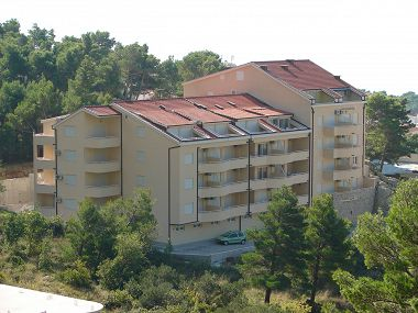 Apartmanok Suzi - beautiful view and cosy: A1 crvena kuhinja(2+2), A2(2+2) Baska Voda - Riviera Makarska