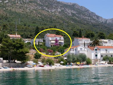 Apartmanok Kate - 20m from the beach: A1(2+2), A2(3+2) Brist - Riviera Makarska