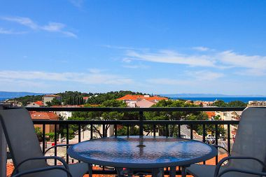 Apartmanok Josip - panoramic sea view & parking: A1(4+2) Makarska - Riviera Makarska